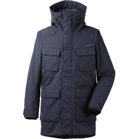 Didriksons 1913 Drew Parka Heren, dark night blue